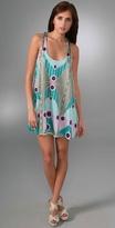 Twist Strap Swing Dress