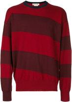 Marni diagonal stripe sweater