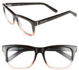 Bobbi Brown Women's 'The Bedford' 52Mm Reading Glasses - Black/ Pink Crystal