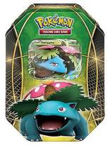 Pokemon 2016 Trading Cards Best of EX Tins featuring Venusaur