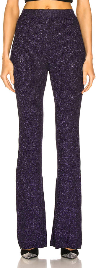 JoosTricot Flared Pants in Purple | FWRD