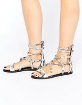 Aldo Patras Gladiator Flat Sandals