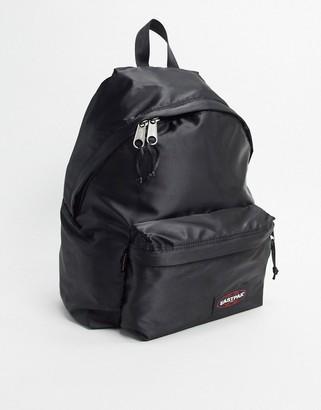Eastpak padded backpack in satin black