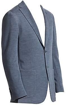 Saks Fifth Avenue Heathered Jersey Knit Sportcoat