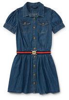 Ralph Lauren 7-16 Denim Shirtdress