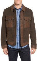 Timberland Mount Davis Leather & Cotton Jacket