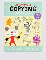 Marks and Spencer Arty Mouse Copying Activity Book