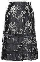 CONTEMPORARY Cherry Blossom Jacquard Pleated Skirt