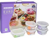 Lock & Lock 5-Piece Euro Glass Food Container Set