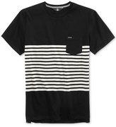 Volcom Men's Benler Stripe Pocket T-Shirt