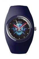Ioion IO?ION! Io? ION. – bu-nvb17 Silicone Strap Unisex Watch – Analogue Quartz – Blue