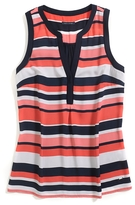 Tommy Hilfiger Final Sale- Printed Stripe Shell Tank