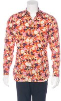 Tom Ford Floral Print Shirt