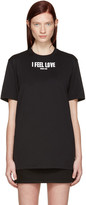 Givenchy Black 'I Feel Love' T-Shirt
