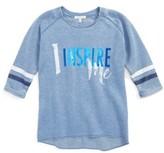 C&C California Girl's Inspire Me Sweatshirt Tee