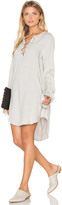 Bella Dahl Bell Sleeve Lace Up Dress