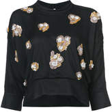 Rachel Comey embellished cropped blouse