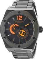 Stuhrling Original Men's Esprit D'Vie Automatic Dial Pvd Bracelet Watch 281B.335957