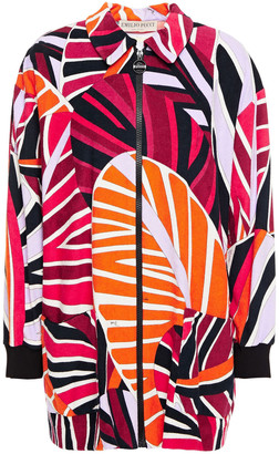 Emilio Pucci Printed Cotton-blend Terry Jacket