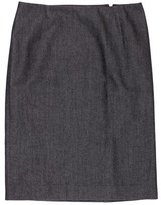 Carolina Herrera Knee-Length Pencil Skirt