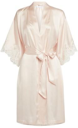 Lise Charmel Lace-Trim Robe