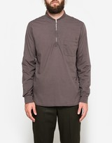 Our Legacy Shawl Zip Shirt Pigment Brown