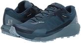Salomon Sense Ride 3 GTX(r) Invisible Fit (Indian Teal/Smoke Blue/Angel Falls) Women's Shoes