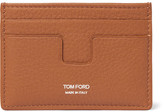 Tom Ford Grained-leather Card Holder