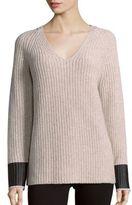 Rag & Bone Long Sleeve Merino Wool Sweater