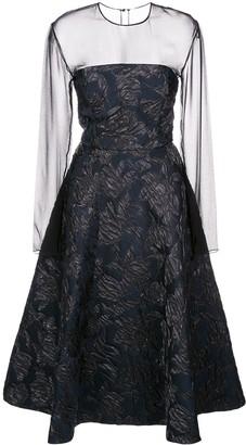 Jason Wu Collection silk A-line midi dress