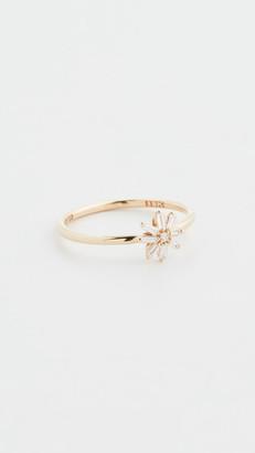 Suzanne Kalan 18k Yellow Gold Small Starburst Ring