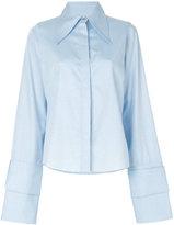 Marques Almeida Marques'almeida - frayed hem shirt - women - Cotton - XS