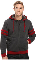 U.S. Polo Assn. Fleece Hoodie with Sherpa Lining