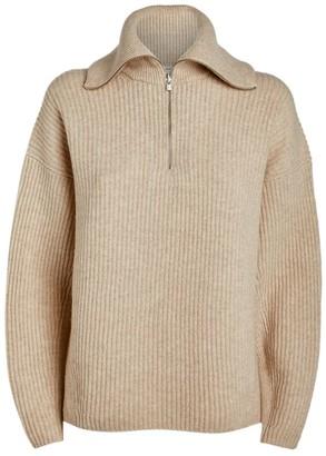 Vince Half-Zip Cashmere Sweater