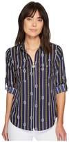MICHAEL Michael Kors Reef Knot Lock Zip Top Women's Clothing