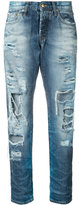 PRPS distressed straight jeans - women - Cotton - 24
