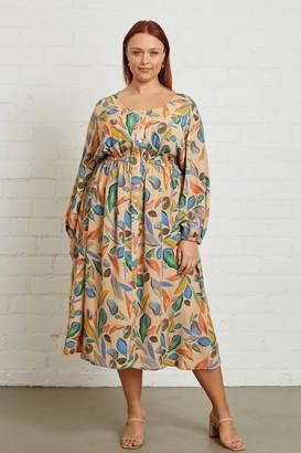 White Label Crepe Audrey Dress - Tuscany, Plus Size