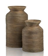 Crate & Barrel Toro Vases