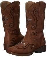 Roper Faith Crystal Cross Cowboy Boots