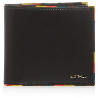 Paul Smith Stripe Edge Leather Bi-Fold Wallet
