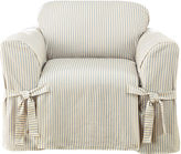 Sure Fit Ticking Stripe 1-pc. Chair Slipcover