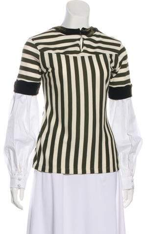 e255b03e0c3 Johanna Ortiz Striped Top - ShopStyle