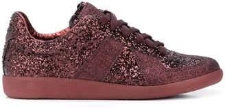 Maison Margiela Replica glitter low-top sneakers