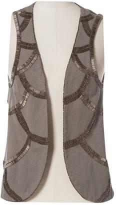 IRO Khaki Cotton Tops