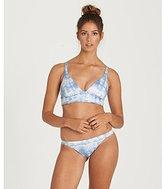 Billabong Women's Mas Tropical Reversible Banded Triangle Bikini Top