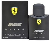 Ferrari Men's Black by Eau de Toilette Spray - 2.5 oz