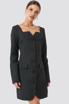 NA-KD Fitted Blazer Dress