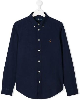 Ralph Lauren Kids TEEN button-down shirt