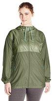 Columbia Women's Plus-Size WS Flashback Long Windbreaker Jacket