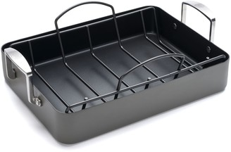 Food Network 16-in. Hard-Anodized Nonstick Roaster